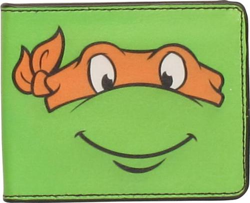 Ninja Turtles Michelangelo Face Wallet