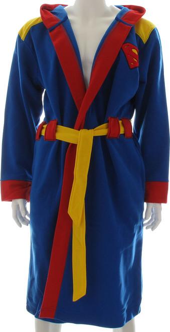 Superman Costume Hooded Fleece Robe