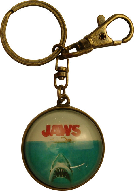 Jaws Movie Poster Keychain