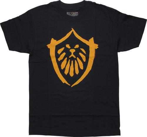 World of Warcraft MoP Alliance Logo T-Shirt