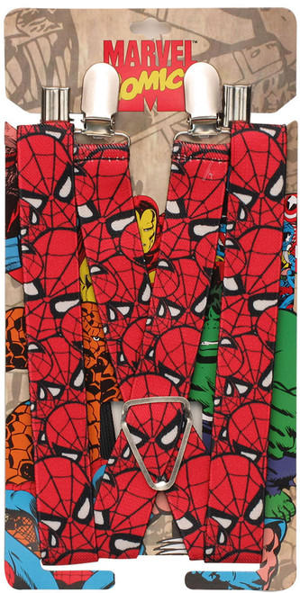 Spiderman Masks Suspenders