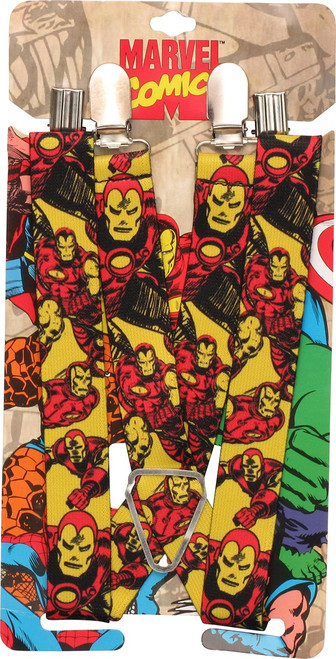 Iron Man Action Poses Suspenders