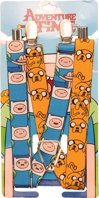 Adventure Time Finn and Jake Suspenders