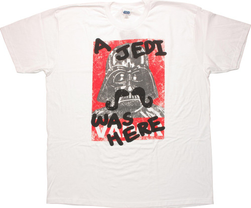 Star Wars A Jedi Was Here T Shirt Sheer