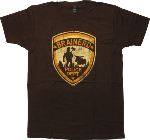 Fargo Brainerd Police Dept T-Shirt Sheer