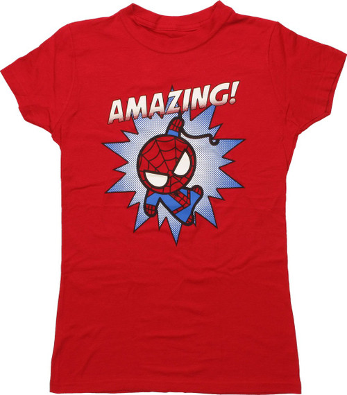 Spiderman Toy Kawaii Amazing Baby Tee