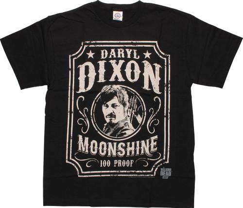 Walking Dead Daryl Dixon Moonshine T-Shirt