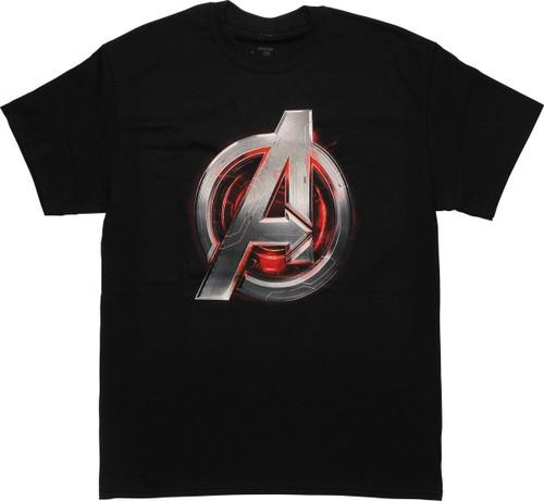Avengers Age of Ultron Assemble Logo T-Shirt