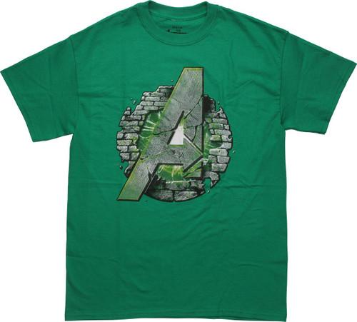 Avengers Hulk Assembles Logo T-Shirt