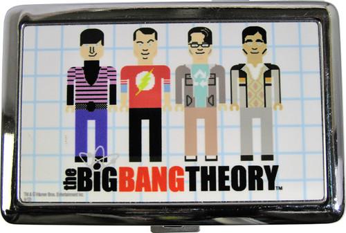 Big Bang Theory Pixel Cast Large Card Case