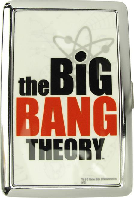 Big Bang Theory Name Large Card Case