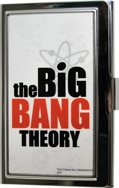 Big Bang Theory Name Card Case