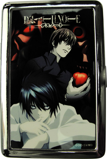 Death Note Light and L Large Card Case