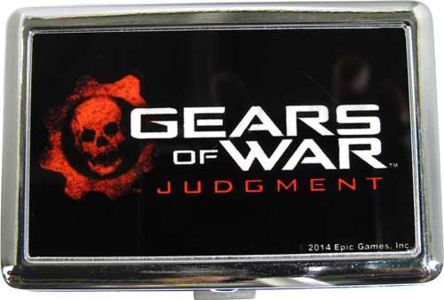 Gears of War Judgment Name Large Card Case