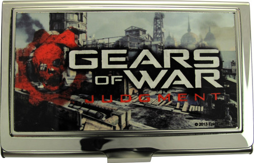 Gears of War Judgment City Card Case