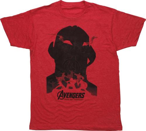 Avengers Age of Ultron Shadows T-Shirt Sheer