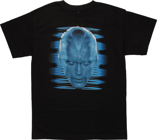 Avengers Age of Ultron Glow Vision Head T-Shirt