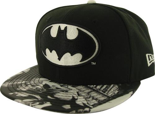 Batman Glow Logo 59FIFTY Hat