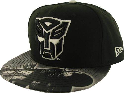 Transformers Autobot Glow Logo 59FIFTY Hat