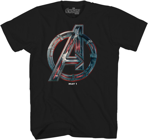 Avengers Age of Ultron Logo T-Shirt