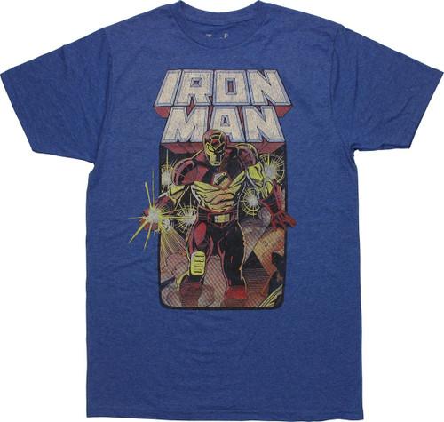 Iron Man Crash and Burn T-Shirt Sheer