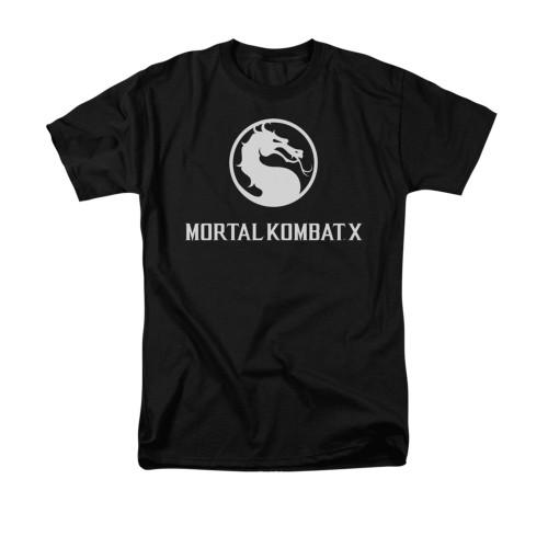 Mortal Kombat X Dragon Logo T Shirt
