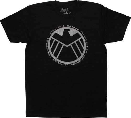 SHIELD Logo JOAT T-Shirt Sheer