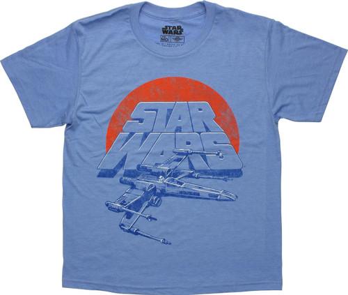 Star Wars X-wing Logo Youth T-Shirt