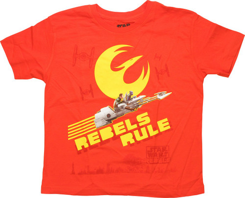 Star Wars Rebels Rule Juvenile T-Shirt