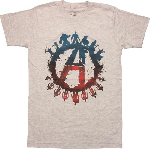 Avengers Age Ultron Good Over Evil T-Shirt Sheer