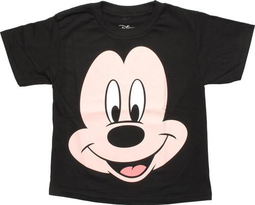 Mickey Mouse Big Face Juvenile T-Shirt