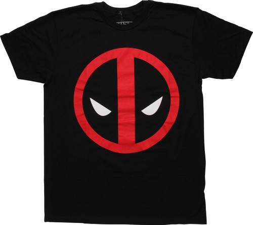 Deadpool Basic Large Icon T Shirt Sheer