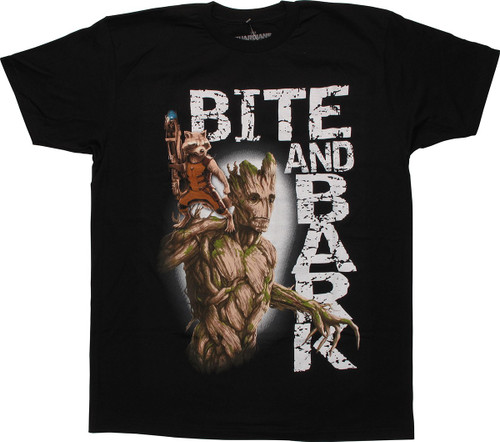 Guardians of the Galaxy Bite Bark T Shirt Sheer