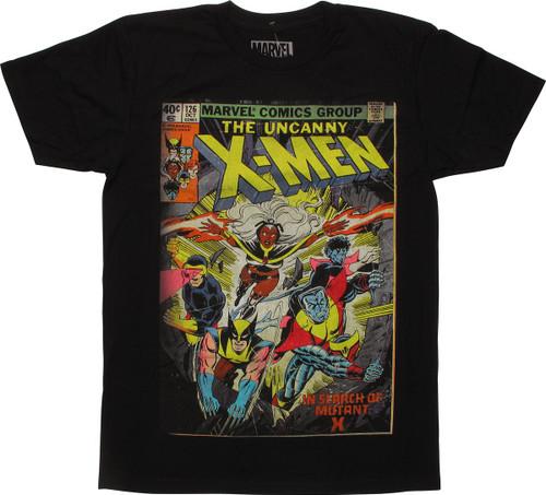 X Men In Search of Mutant X T Shirt Sheer