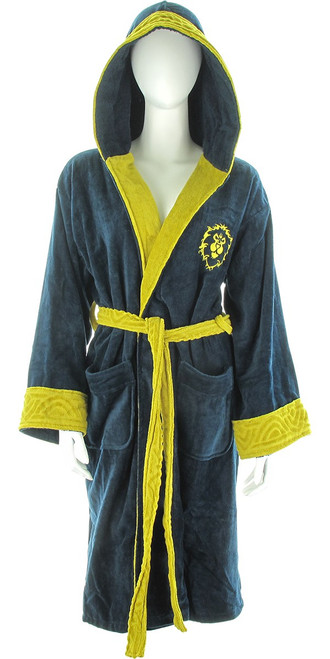 World of Warcraft Alliance Logo Junior Robe