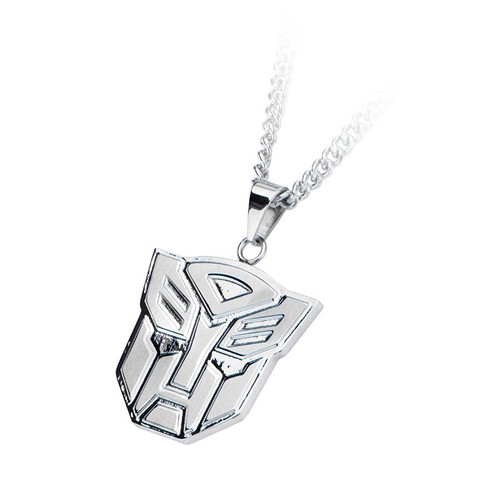 Transformers Autobot Steel Necklace