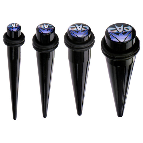 Transformers Decepticon Acrylic Tapers