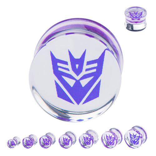 Transformers Decepticon Saddle Plugs