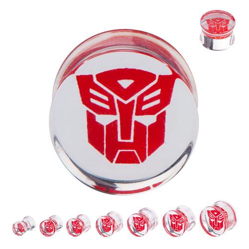 Transformers Autobot Saddle Plugs
