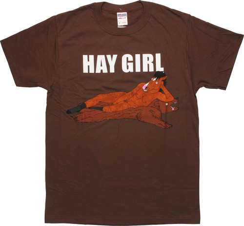 BoJack Horseman Hay Girl T-Shirt