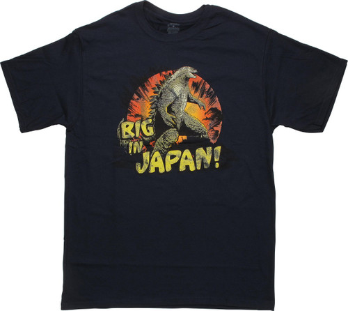 Godzilla Big in Japan T-Shirt