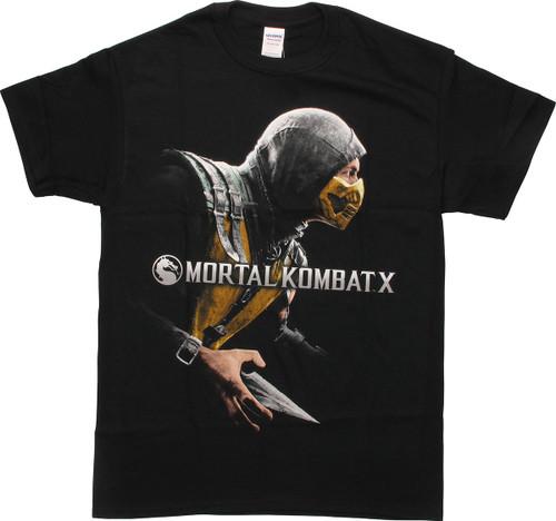 Mortal Kombat X Scorpion Cover T-Shirt