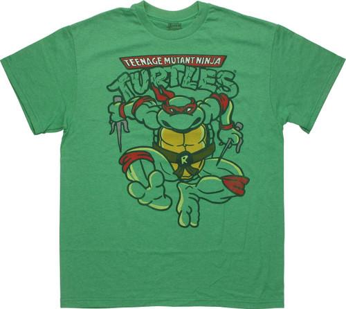 Ninja Turtles Raphael Leap T-Shirt