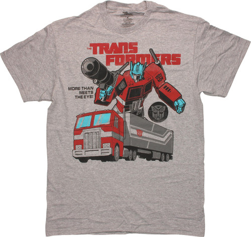Transformers Optimus Prime Truck T-Shirt
