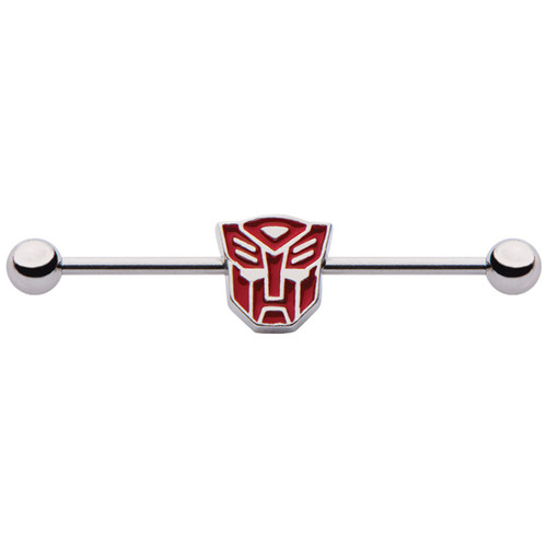 Transformers Autobot Die Cut Industrial Barbell