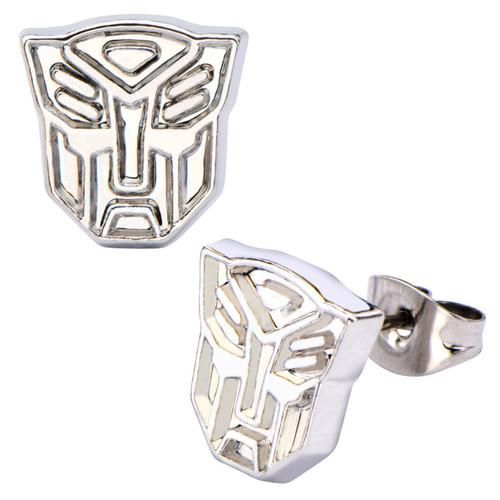 Transformers Autobot Steel Stud Earrings