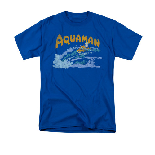 Aquaman Aqua Swim T Shirt