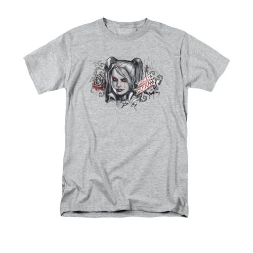 Harley Quinn Arkham Knight Hq Sketch T Shirt