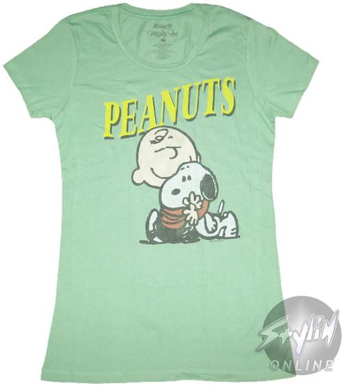 Peanuts Hug Baby Tee