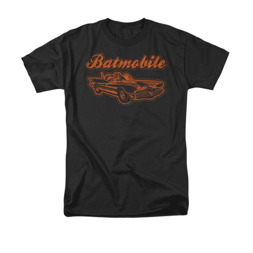 Batman Vintage Batmobile T Shirt